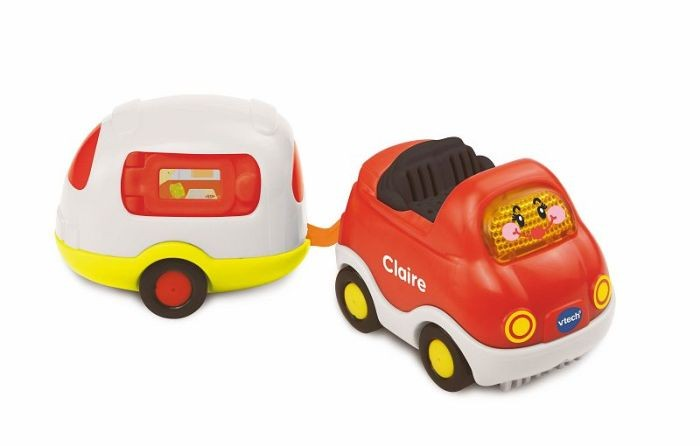 Vtech Toet Toet Auto's Claire Cabrio en Caravan