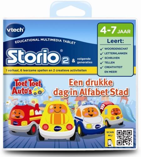 Vtech Storio 2 - Toet Toet Auto's letter en klanken
