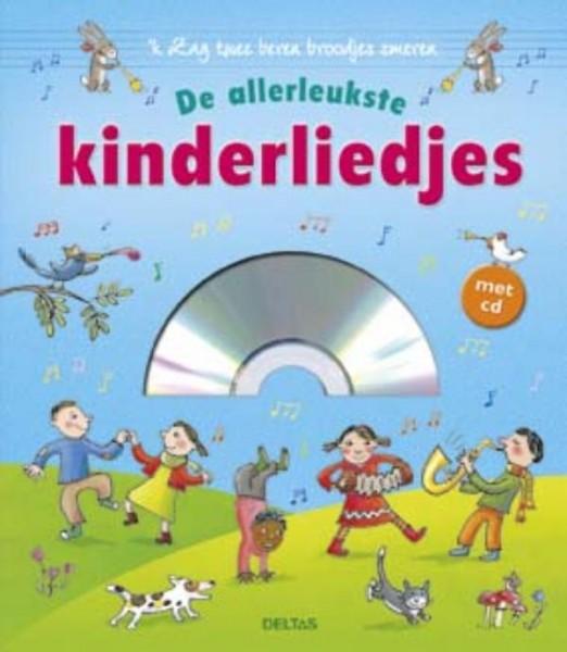 Boek De Allerleukste Kinderliedjes Met CD...