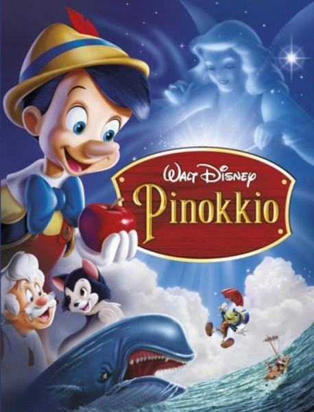 Boek Disney Pinokkio