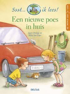 Boek Ssst... Ik lees Een nieuwe poes in huis