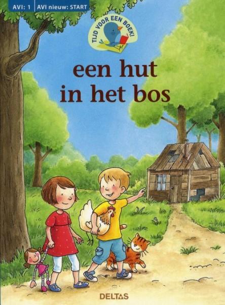 Tijd voor een boek; hut in het bos