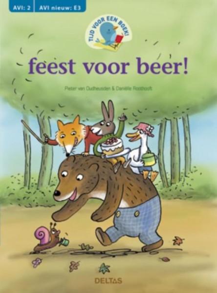 Tijd voor een boek; Feest voor beer