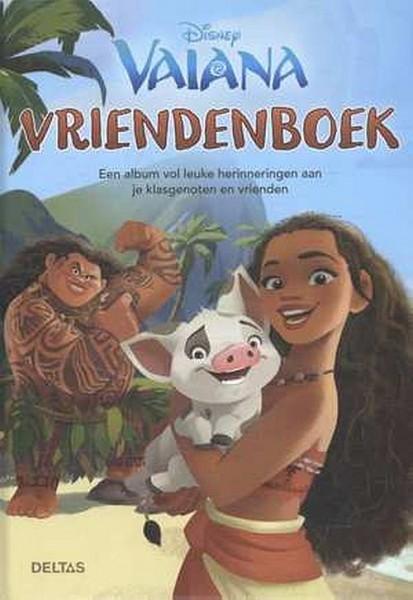 Disney Vriendenboek Vaiana
