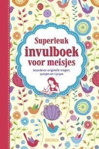 Superleuk Invulboek voor meisjes