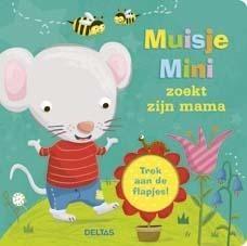 Kartonboekje Muisje Mini Zoekt Zijn Mama