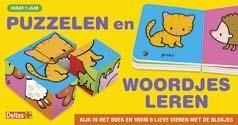 Boek puzzelen en woordjes leren (vanaf 1 jaar)