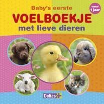 Baby's eerste voelboekje met lieve dieren (vanaf 1 jaar)