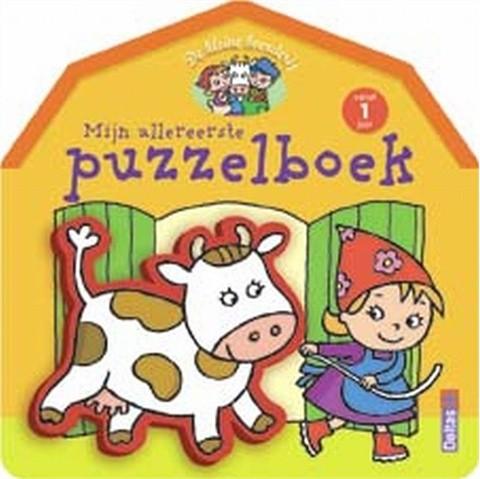 De kleine boerderij - Mijn allereerste puzzelboek (vanaf 1 jaar)