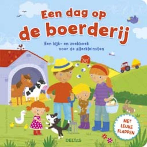 Boek Een dag op de boerderij