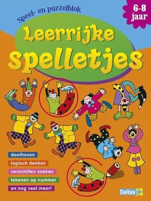 Leerrijke spelletjes speel- en puzzelblok (6-8 jaar)