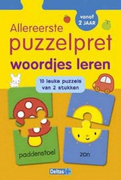 Allereerste Puzzelpret Woordjes (vanaf 2 jaar)