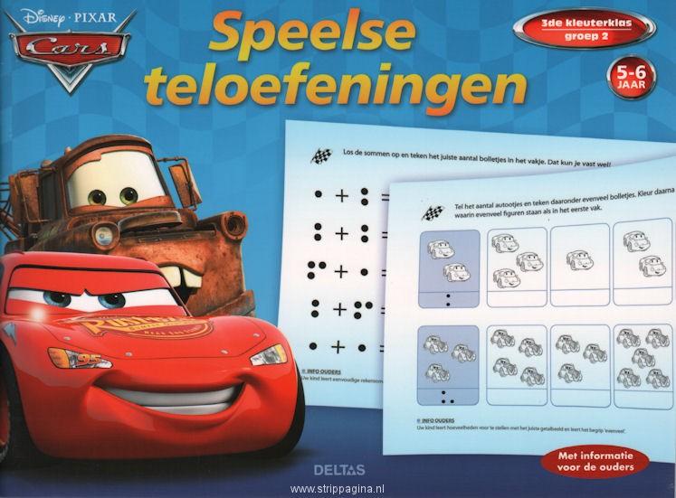 Disney Cars Ik kan al tellen (5-6 jaar)