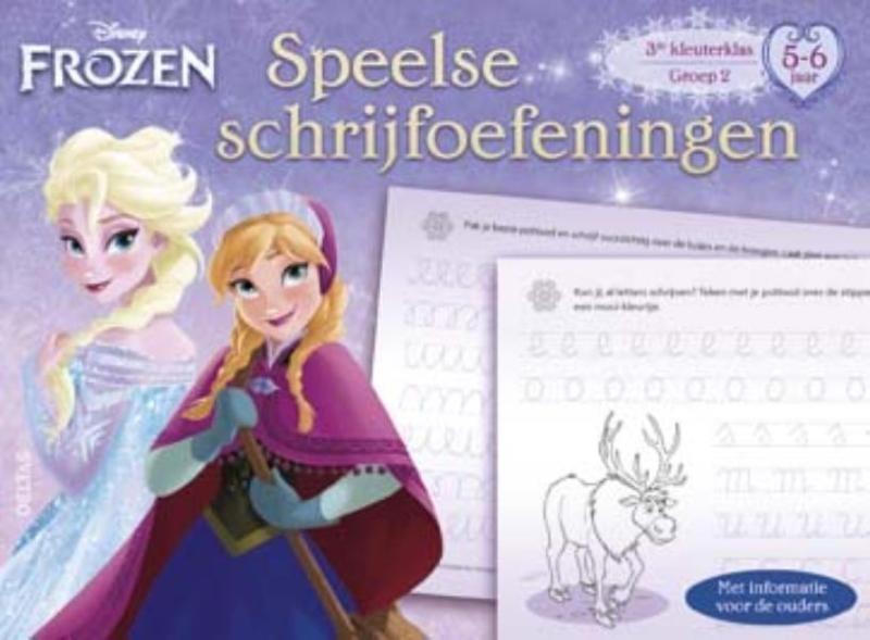 Disney Frozen Speelse Schrijfoefeningen...