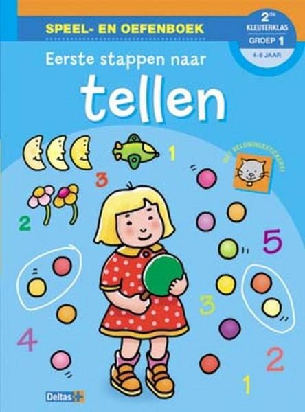 Speel- en oefenboek Eerste stappen naar tellen (4-5 jaar)