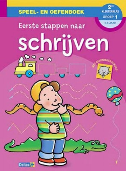 Speel- en oefenboek Eerste Stappen naar schrijven (4-5 jaar)