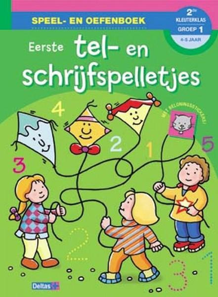 Speel- en oefenboek Eerste tel en schrijfspelletjes (4-5 jaar)