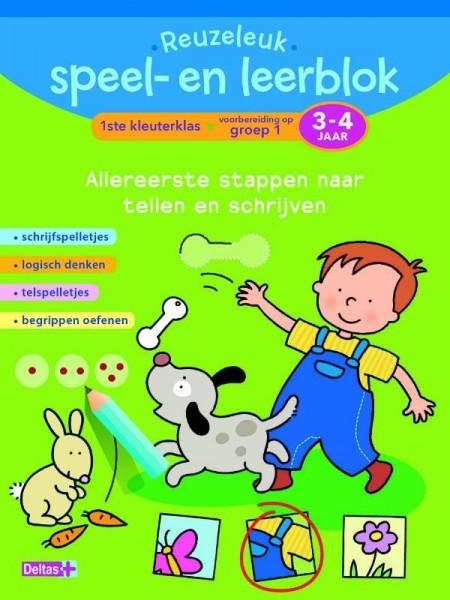 Reuzeleuk speel- en leerblok tellen en schrijven (3-4 jaar)