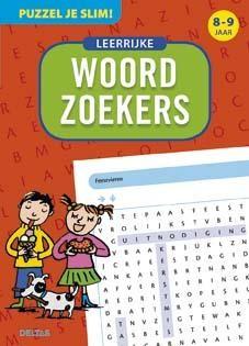 Puzzel je slim! Leerrijke woordzoekers voor 8-9 jarigen Deltas