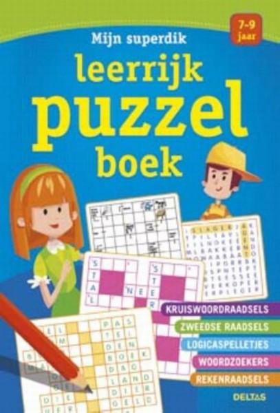 Mijn Superdik Leerrijk Puzzelboek (7-9 jaar)