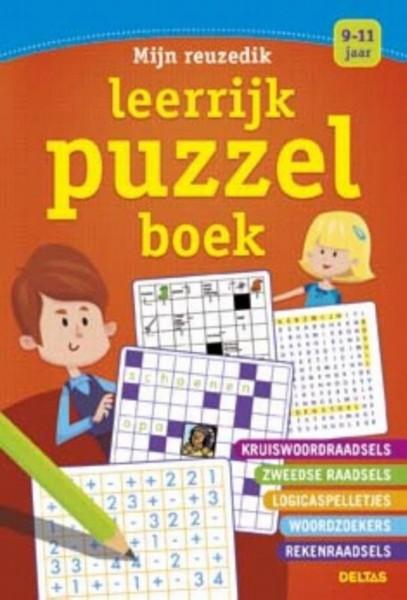 Mijn Reuzedik Leerrijk Puzzelboek (9-11 jaar)