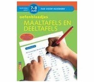 Oefenblaadjes Maaltafels en Deeltafels (7-8 jaar)