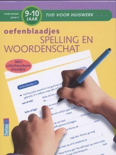 Oefenblaadjes spelling en woordenschat (9-10 jaar) Deltas