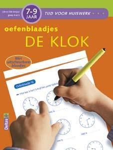 Tijd voor huiswerk oefenblaadjes de klok (7-9 jaar)
