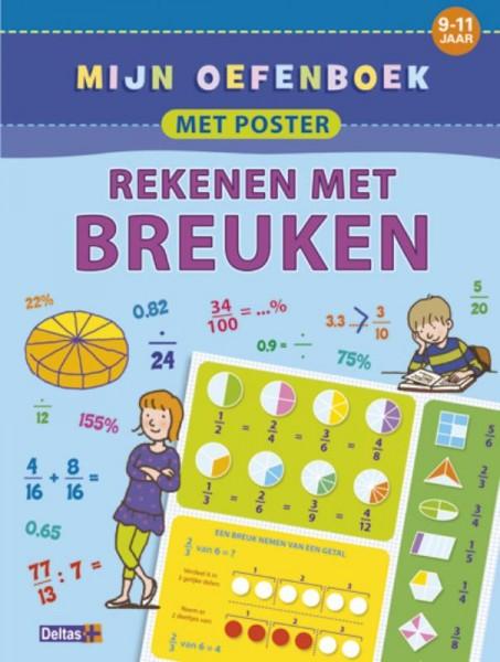 Mijn oefenboek met poster: Rekenen met Breuken (9-11 jaar)