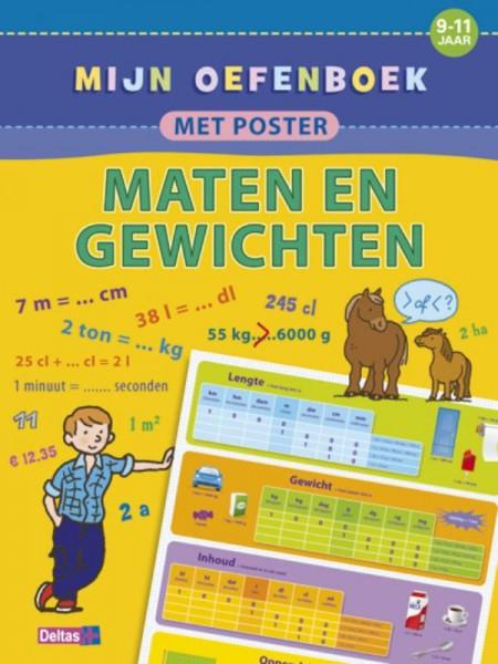 Mijn Oefenboek met Poster: Maten en Gewichten (9-11 jaar)