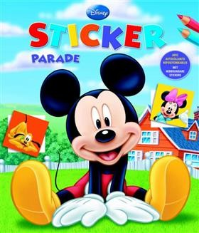 Sticker Parade Disney Mickey Deltas