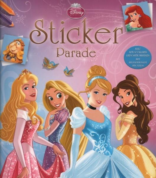 Disney sticker parade prinsess