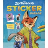 Disney Sticker Parade Zootropolis