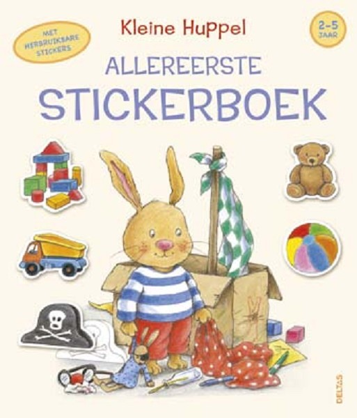 Kleine huppel allereerste stickerboek (2-5 jaar)