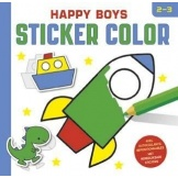 Happy Boys Sticker Color 2-3 Jaar