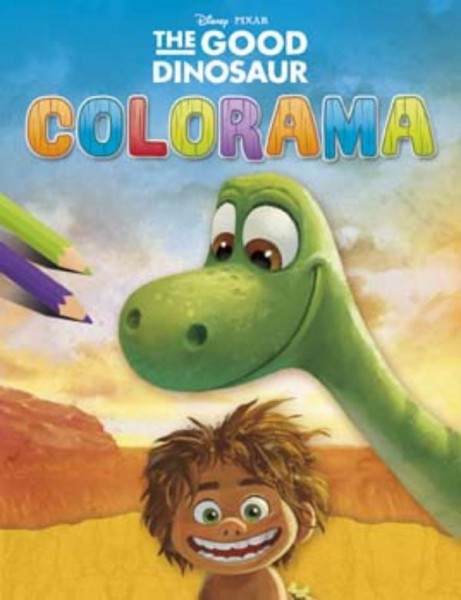 Kleurboek Colorama The Good Dinosaur