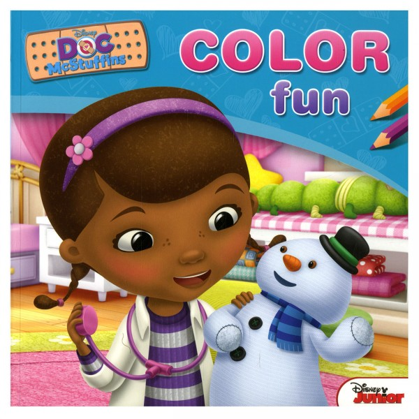 Disney Color Fun Doc McStuffins