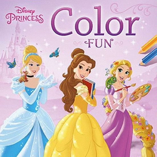 Disney Color Fun Princess Kleurboek