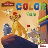 Disney Color Fun The Lion Guard