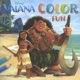 Disney Color Fun Vaiana