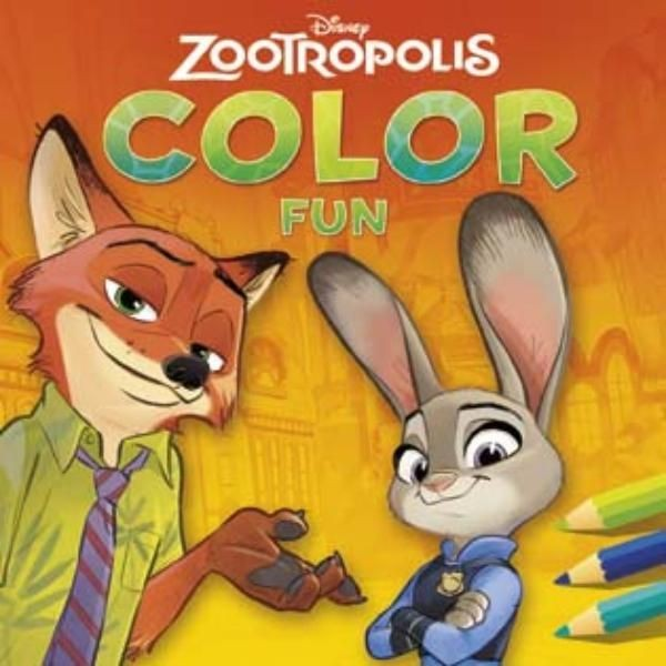 Disney Color Fun Zootropolis