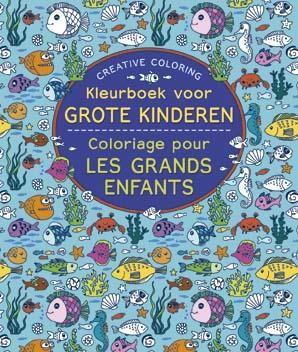 Creative Coloring Kleurboek Voor Grote Kinderen!