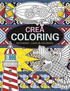 Kleurboek crea coloring