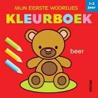 Mijn Eerste Woordjes Kleurboek (1-3 jaar)