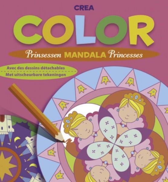 Crea color prinsessen Mandala