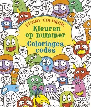 Kleuren op Nummer Funny Coloring