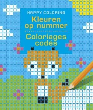 Kleuren op Nummer Happy Coloring