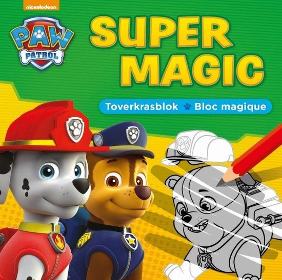 Paw Patrol Super Magic Toverkrasblok
