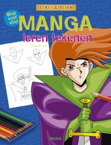 Doeboeken   Tekenatelier   Stap Voor Stap Manga Tekenen