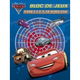 Disney Spelletjesblok Cars 2